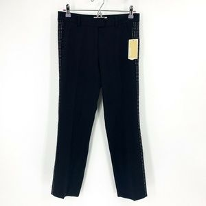 nwt | MICHAEL Michael Kors Side Studded Pants